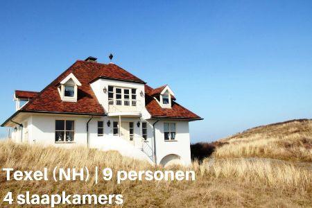 Groepsaccommodatie Villa Duintrots, Waddeneilanden, Texel, De Koog, 9 personen, 4 slaapkamers