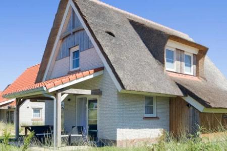 Vrijstaande villa's voor 8 of 10 personen, Nieuwvliet-Bad