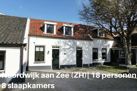 Groepsaccommodatie Vakantiehuis De Kroft II, Zuid-Holland, Noordwijk aan Zee, 18 personen, 8 slaapkamers