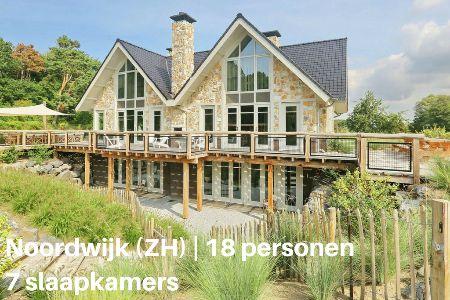Groepsaccommodatie met zwembad, Zuid-Holland, Noordwijk, 18 personen, 7 slaapkamers