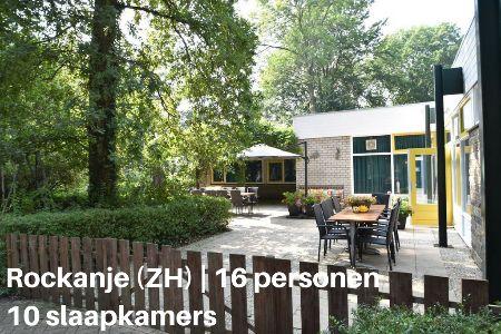 Groepsaccommodatie Vakantiehuis Duynresidentie Rockanje, Zuid-Holland, Rockanje, 16 personen, 10 slaapkamers