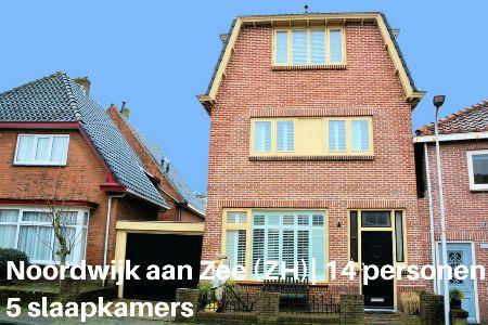 Groepsaccommodatie Vakantiehuis Juliana Beach House, Zuid-Holland, Noordwijk aan Zee, 14 personen, 5 slaapkamers