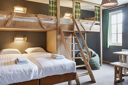 Efteling Groepen, grote slaapkamer