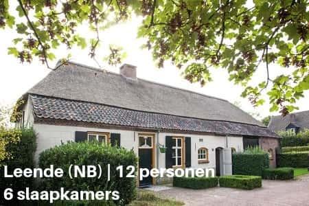 Groepsaccommodatie Boerderij Brabant, 12 personen, 6 slaapkamers