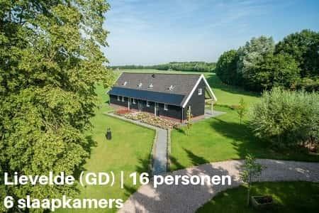 Vakantieboerderij Gelderland, 16 personen, 6 slaapkamers