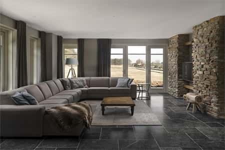 Zeer comfortabele woonkamer