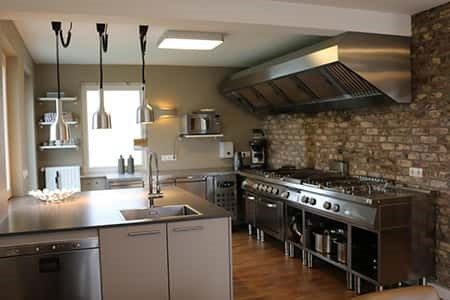 Zeer uitgebreide keuken in het vakantiehuis