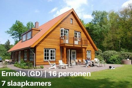 Vakantie met de hond, Ermelo, Gelderland, 16 personen, 7 slaapkamers