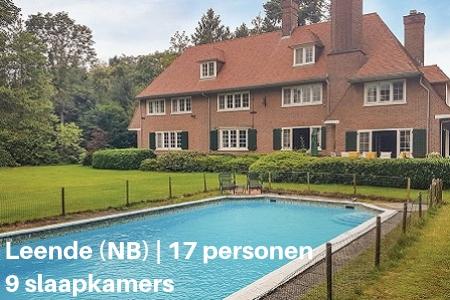 Groepsaccommodatie met zwembad, Leende, Noord-Brabant, 17 personen, 9 slaapkamers