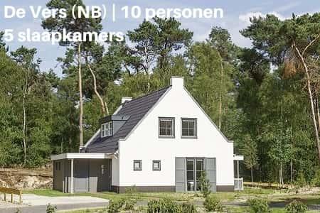 Landal 10 persoons huis, Vakantiepark De Vers, Brabant