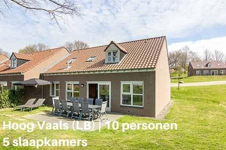 Landal 10-persoonsbungalow, Vakantiepark Hoog Vaals, Limburg