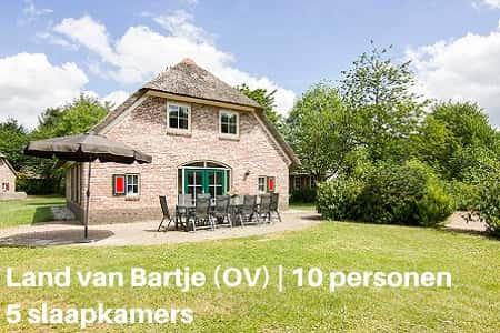 Landal 10-persoonskinderboerderij, Vakatiepark Land van Bartje, Drenthe