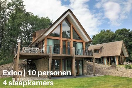 Vakantiehuisje 10 personen Drenthe, Exloo, 4 slaapkamers