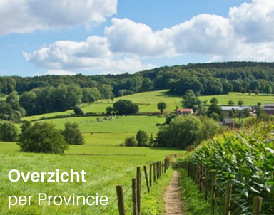 Groepsaccommodatie Nederland, per provincie