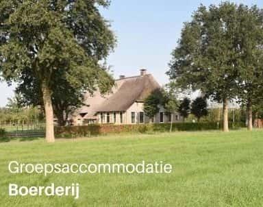 Groepsaccommodatie boerderijen