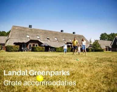 Grote accommodaties op vakantieparken