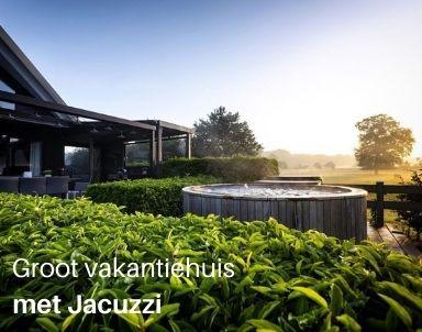Groot vakantiehuis met jacuzzi